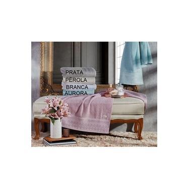 Imagem de Toalha Rosto Requinte 50 x 75 cm Prata Appel