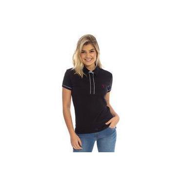 6d4364f0f6106 Camisa Polo Aleatory Lisa Feminina Florence