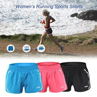 Women's Active Running Shorts Shorts Sports Ginástica Fitness Exercício Yoga Shorts