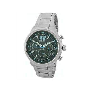 f8b9c17106b Relógio Masculino Analógico Citizen Cronógrafo Eco Drive TZ30688F - Prata