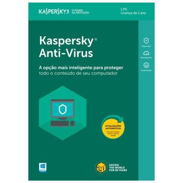Antivírus Kaspersky Kav com 1 Licença KL1171K5AFS-9