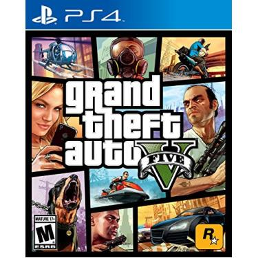 JOGO PARA PS4 GTA V - GRAND THEFT AUTO V - TAKE2