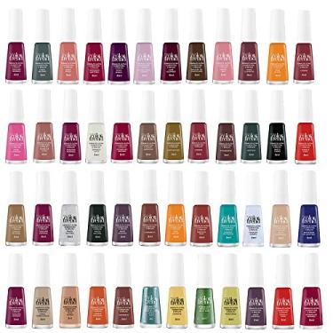 Imagem de Kit 12 Esmaltes Ultra Cobertura e Brilho Color Trend Avon Sortidos 7ml