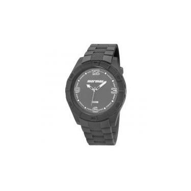 89cef14072d Relógio Masculino Mormaii MO2035FG 8C 48mm Cinza Pulseira Plástico -