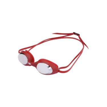 8d28a6a1069f0 Óculos de Natação Mormaii Snap - Adulto - VERMELHO Mormaii
