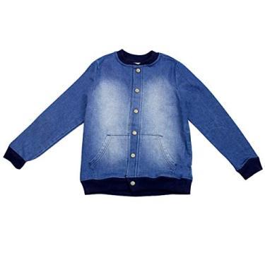 67da7f385 Jaqueta Jeans Infantil Masculina Hering Kids C320lusej