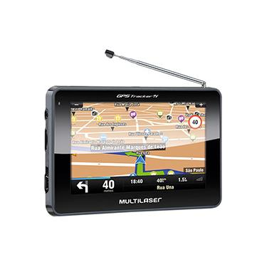 "Imagem de GPS Automotivo Multilaser Tracker III Tela 4,3"" com TV Digital"