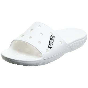 Imagem de Chinelo, Crocs, Classic Slide, Branco, 35, Adulto Unissex