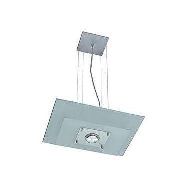 Pendente 31225 Alumínio/Vidro Vidro Branco - Pantoja&Carmona