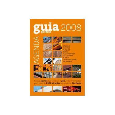 Agenda Guia Da Folha 2008 - Capa Comum - 9788574028132