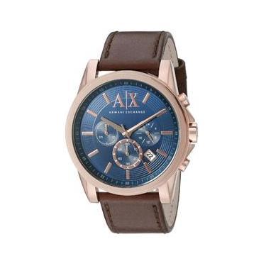 cea0d022ad0 Relógio Masculino Armani Exchange Modelo AX2508 - Pulseira em Couro   A prova  d  água