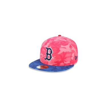 Bone 59fifty Aba Reta Fechado Boston Red Sox Mlb Aba Reta Vermelho New Era