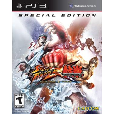 Jogo Street Fighter X Tekken (special Edition) - Ps3