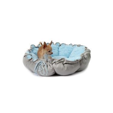 Cama para Cachorro Pet Florença Grande - G - Azul claro - Bichinho Chic