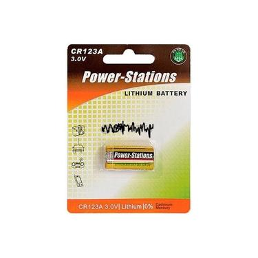 Bateria Pilha Cr123 Lithiun Power-stations 3v