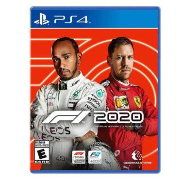 Jogo F1 2020 Standard Blu-Ray Ps4