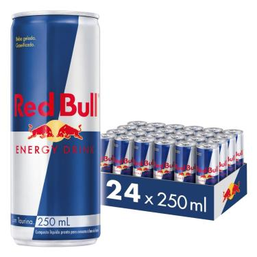 Energético Red Bull Energy Drink, 250 Ml (24 Latas)