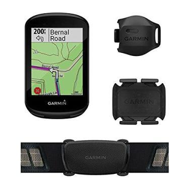 Imagem de Ciclocomputador com GPS Garmin Edge 830 Bundle TouchScreen com Mapeamento de Informações com Monitor Cardíaco e Sensor de Velocidade e Cadência