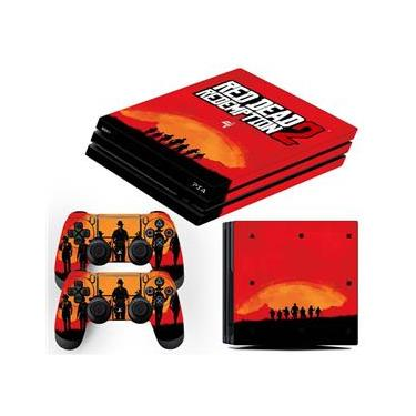 Skin PS4 Pro Red Dead Redemption 2