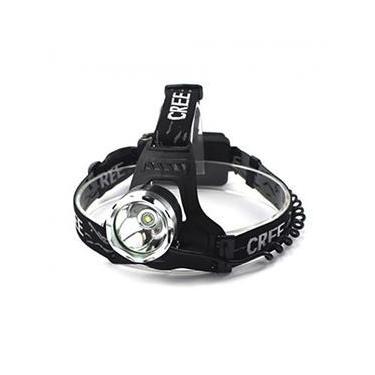 Lanterna Cabeça Recarregável Led Cree T6 Com Zoom GB700