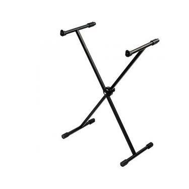 Suporte Estante Pedestal Para Teclado Musical Ibox X20 Preto