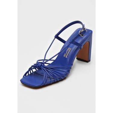 Sandália Santa Lolla Tiras Azul Santa Lolla 045B.2B93.01A2.00FD feminino