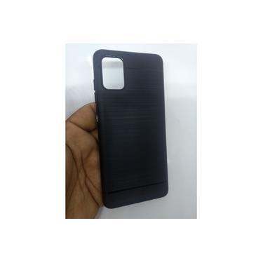 Capa Case Capinha Emborrachada preta Galaxy A51