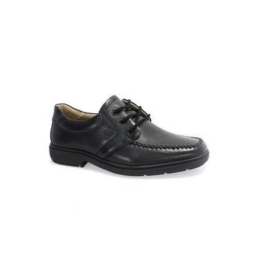 Sapato Masculino Couro Preto Vudalfor