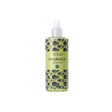 Orgânica Puro Vegetal Abacate e Oliva - Sabonete Líquido 250ml