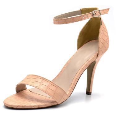 Sandália Salto Fino Gisela Costa Nude  feminino