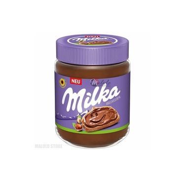 Creme De Avelã Com Chocolate Milka Hazelnut Cream 350g