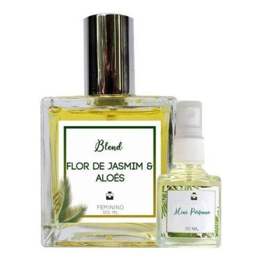 Imagem de Perfume Flor de Jasmim & Aloés 100ml Feminino - Blend de Óleo Essencial Natural + Perfume de presente