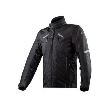 Jaqueta Ls2 Serra Evo Masculina Preta Black Motociclista