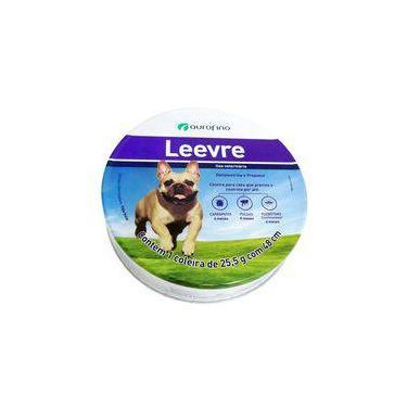 Coleira Antiparasitária Ourofino Leevre Para Cães - Pequena 48 CM