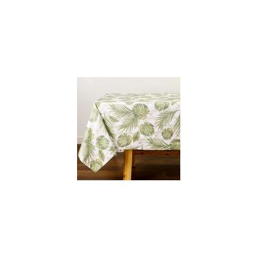 Imagem de Toalha De Mesa Retangular Bambu 160 X 240 Cm - Percal 180 Fios - Casa & Conforto