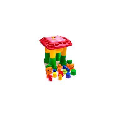 Imagem de Mesa De Atividades Infantil Mk200 Vermelha - Dismat