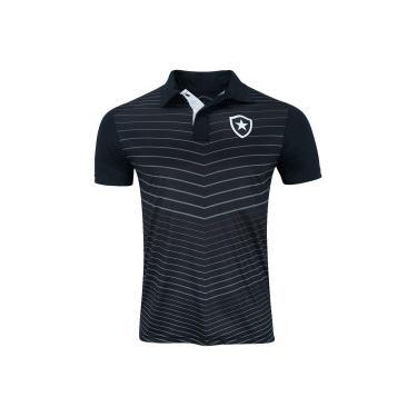 3a65021780 Camisa Polo do Botafogo Grand - Masculina - PRETO Xps Sports