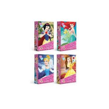 Imagem de Quebra-Cabeça Princesas 60 Pçs Toyster