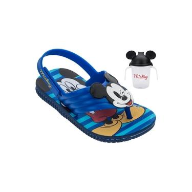Sandália Infantil Disney Grendene Kids Mickey Copinho - Azul
