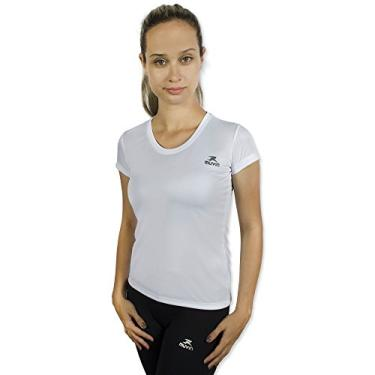 Camiseta Color Dry Workout Ss - Muvin - Cst-400 - Branco - Eg