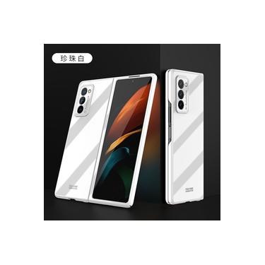Capa Crystal Clear Samsung Galaxy Z Fold 2 - Branco