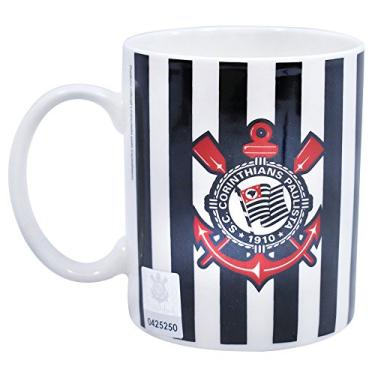 Caneca Porcelana 370ml - Corinthians 5f6a2bee87fb8