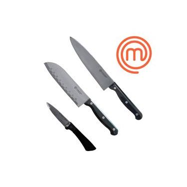 Kit 3 Facas do Chef Quotidien/Gastronomie Forjada MasterChef