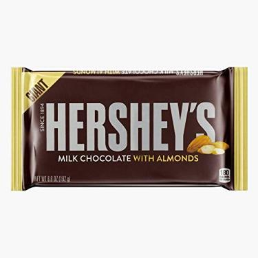 Hershey's Giant Milk Chocolate with Almonds 192g