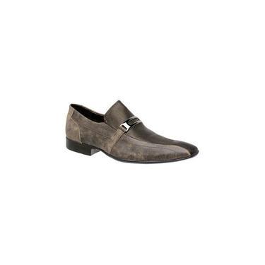 Sapato Social Youth Pelica Chocolate 713001 Tamanho De Calçado Adulto:43