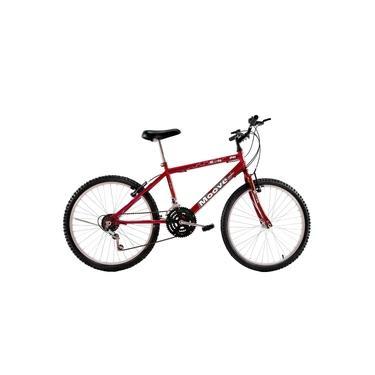 Imagem de Bicicleta Aro 26 Masculina Adulto 18 Marchas Vermelha