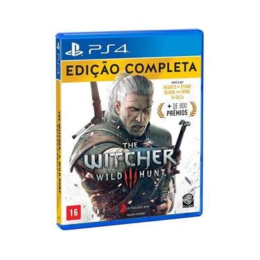 Jogo - The Witcher 3: Complete Edition - PS4
