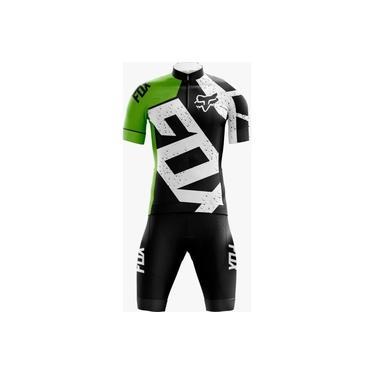 Conjunto Ciclismo Bermuda e Camisa Befast Fox Preto