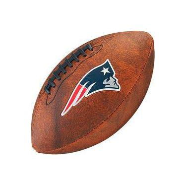 Bola de Futebol Americano Wilson THROWBACK NFL Jr. NEW ENGLAND PATRIOTS