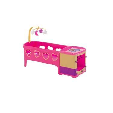 Imagem de Berço De Boneca Princess Meg 72,8cm Com Acessórios 8101 - Magic Toys
